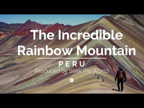 The Incredible Rainbow Mountain Of Peru!